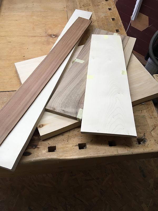 So sieht die Holzsammlung aus