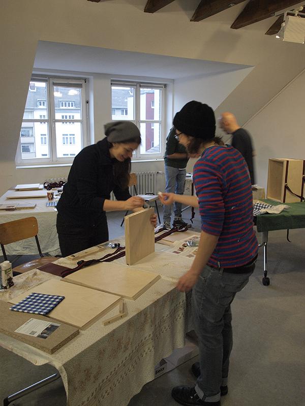 Cajon-Bau-Workshop | Leim angeben