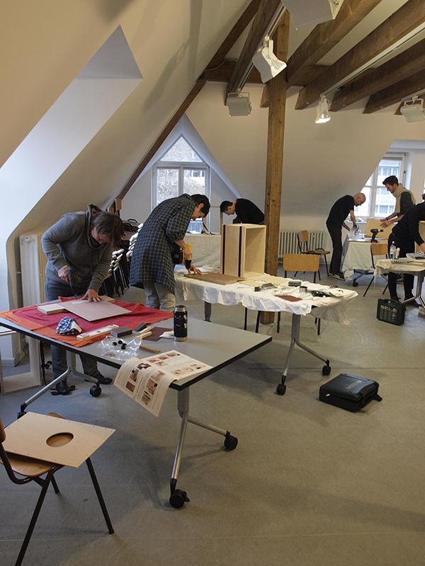 Cajon-Bau-Workshop | Bohren