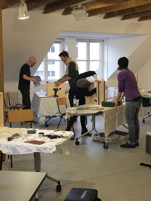 Cajon-Bau-Workshop | Korpus verleimen