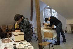 Cajon-Bau-Workshop | Rückwand anschrauben