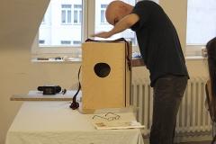 Cajon-Bau-Workshop | Kontrolle ist besser...