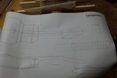 Cavaquinho bauen, Plan