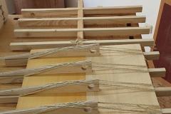 Cavaquinho bauen, Decke verleimen