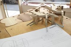 Cavaquinho bauen, Einzelteile des Bodies