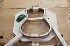 Cavaquinho bauen, Klötze und Riemchen plan hobeln
