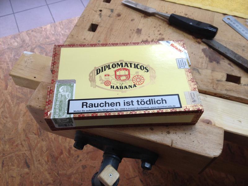 Cigarbox-Guitars, Zigarrenkiste