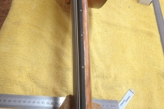 fretless guitar, Saitenlage einstellen, SetUp fertig