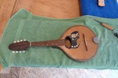 Mandoline restaurieren, Originalzustand