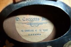 Mandoline restaurieren, eine Mandoline aus Catania, Sizilien