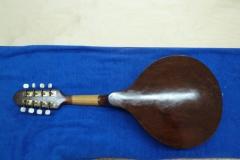 Mandoline restaurieren, fertig restauriert, Rückseite
