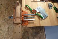 Ukulele bauen, Hals-Rückseite runden
