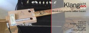 Gutschein Cigarbox-Guitar