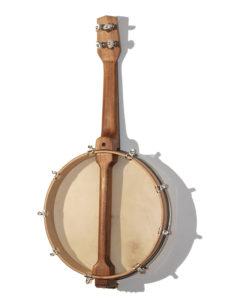 Banjo-Ukulele, Rückseite