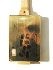 Cigarbox-Ukulele Knuspergold, Rückseite