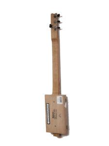 Cigarbox-Guitar 1, Rückseite