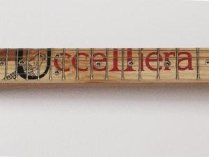 Cigarbox-Guitar 1, Druck