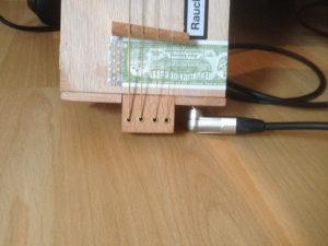 Cigarbox-Guitar 1, Detail