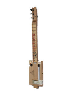 Cigarbox-Guitar 1, Front