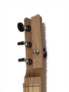 Cigarbox-Guitar 1, Kopf, Front