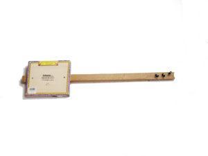 Cigarbox-Guitar 2, Rückseite