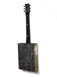 Cigarbox-Guitar 3, Rückseite