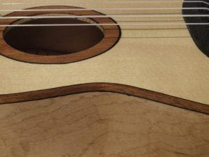 Konzert-Ukulele, Detail