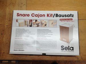 Bausatz Cajon Sela SE 001